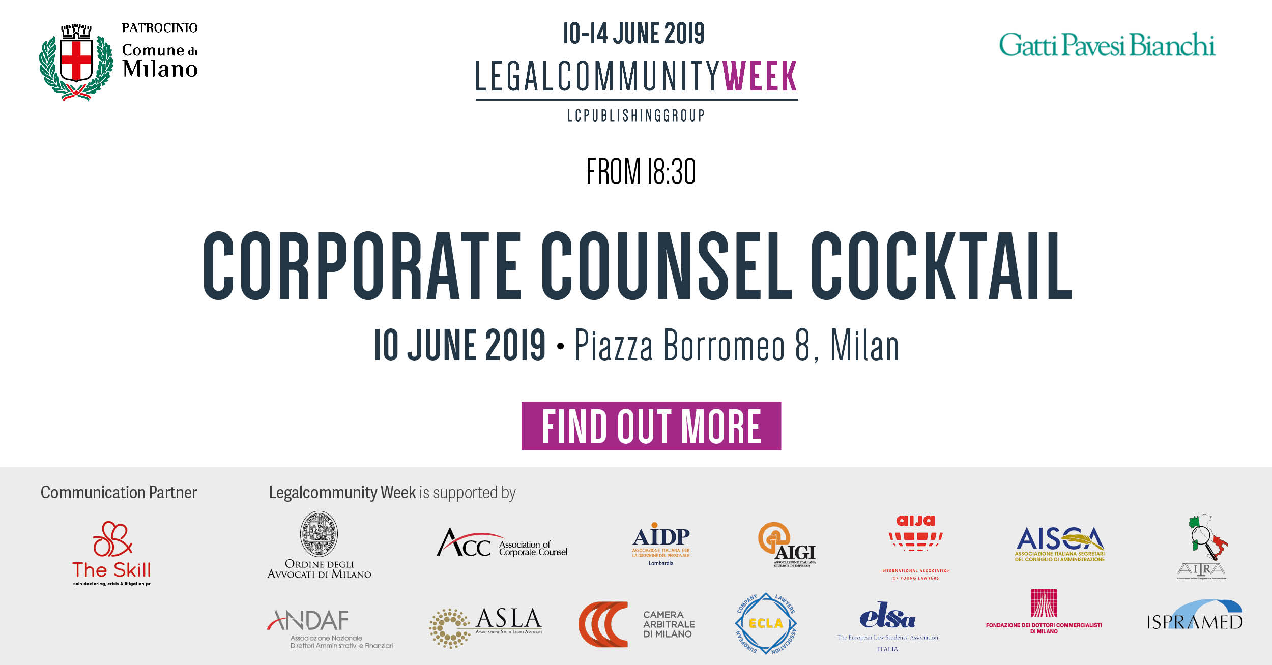 Corporate Counsel Cocktail
