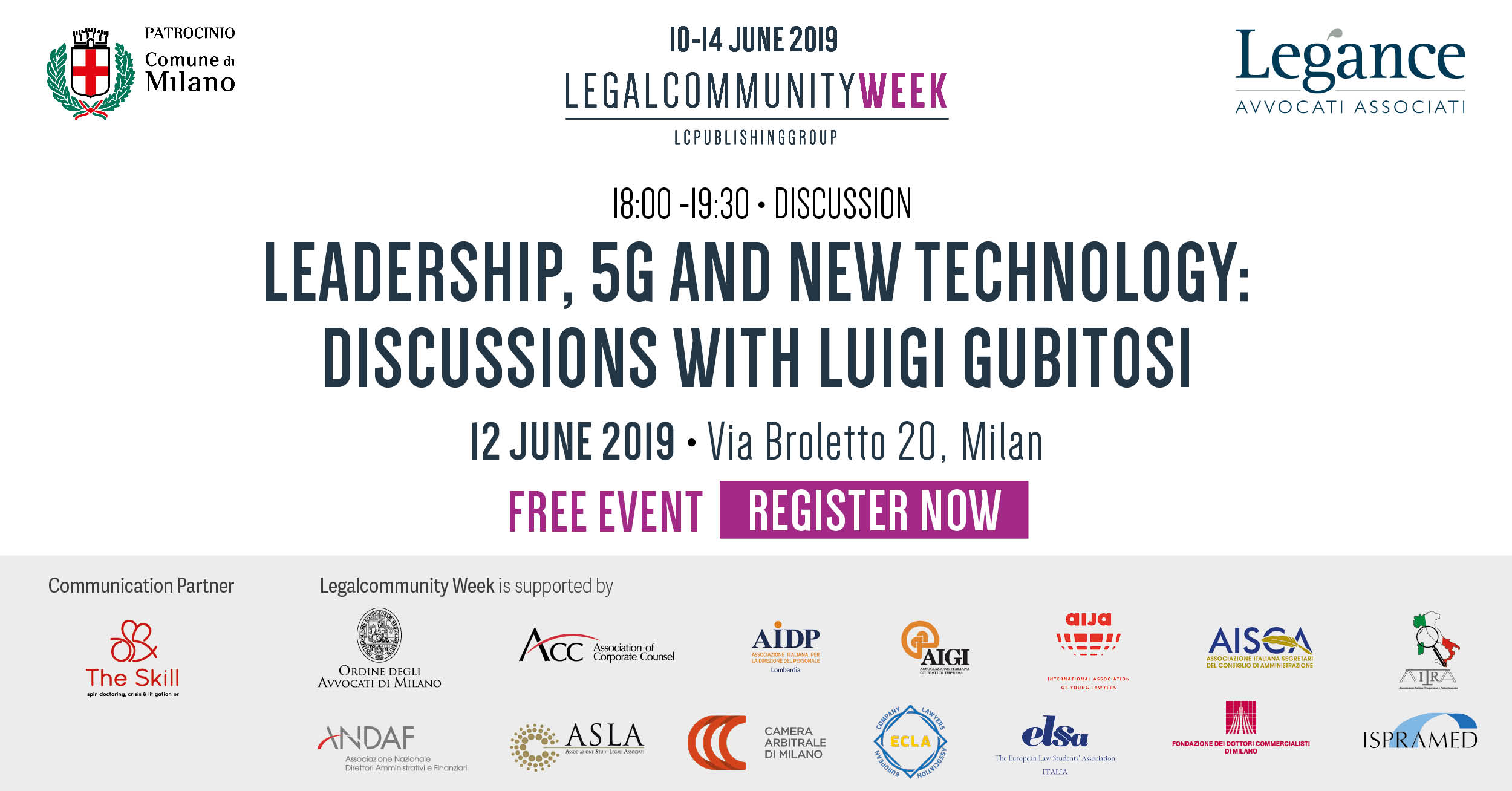 """Discussion: """"Leadership, 5G and new technology"""""""